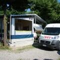 Campeggio Lido Monvalle - Lago Maggiore - Tenda rigida con terrazzino